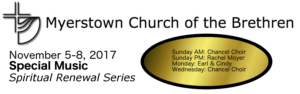November Spiritual Enrichment Series